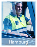 Hamburg-Veiligheids-Polo-shirt