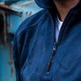 Zipsweater Roswell Zwart  S  t/m  5XL_