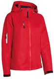 MH-700 Style shell Jacket Red  XS t/m XXXL_