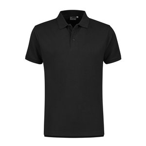 Santino Poloshirts Monza  zwart S  t/m 5XL