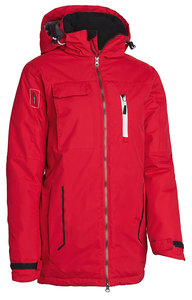 MH-687 Style unisex winter Jacket Red  XS t/m XXXL